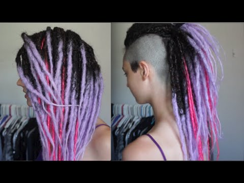 Hair Transformation Synthetic Dreads Youtube