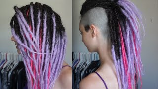 Hair Transformation - Synthetic Dreads!