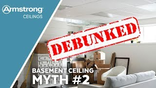 Basement Ceiling Myths Busted | Myth Two - 2' x 2' Ceilings | Armstrong Ceilings for the Home