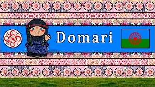 The Sound of the Domari language (Numbers, Greetings, Words & Sample Text)