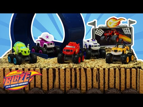 How to Decorate Your Own Blaze Birthday Cake 🚗🔥🎂| Blaze and the Monster Machines