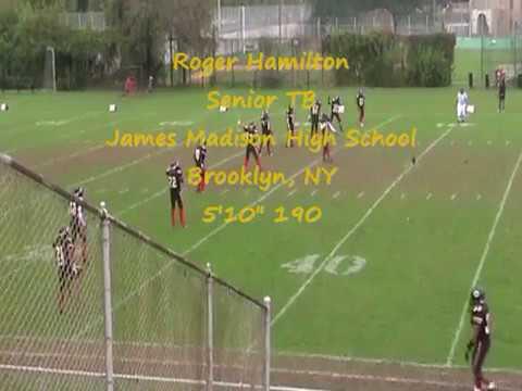 Roger Hamilton James Madison High School Highlights