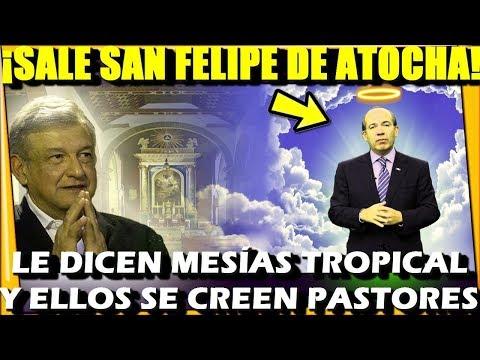 🔴GU.ER.RA SANTA ¡CLERIGO SE LANZA CONTRA AMLO ! SALE SAN FELIPE DE ATOCHA - ESTADISTICA POLITICA