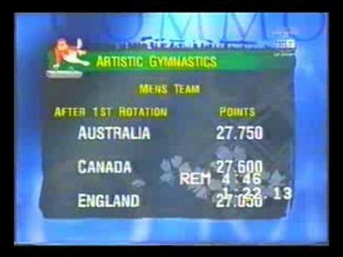 Gymnastics - 1998 Commonwealth Games Part 1