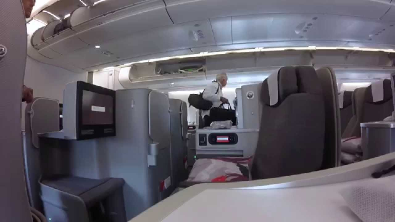 Business Class Iberia A330 300 Miami Madrid Youtube
