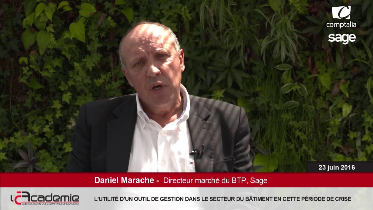 Les Entretiens de l'Académie : Daniel Marache