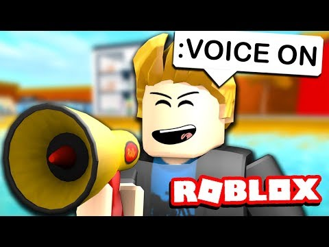 USING ROBLOX VOICE CHAT WITH ADMIN COMMANDS - YouTube