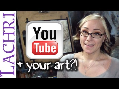 Should you make a youtube channel for your art? Art tips w/ Lachri
