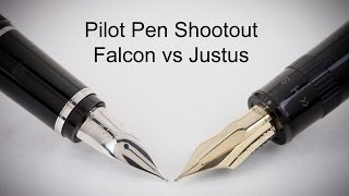 Pilot Pen Shootout: Justus 95 vs Falcon
