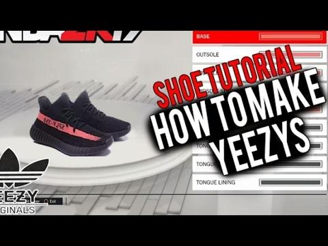 NBA 2K17 TUTORIAL: How To Make Yeezys