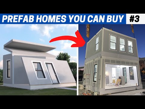 7 Great PREFAB HOMES #3 (some affordable)