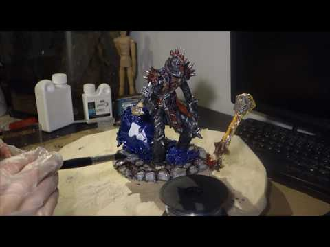 World of Warcraft: Undead player character sculpt - part 10 - Resin finish