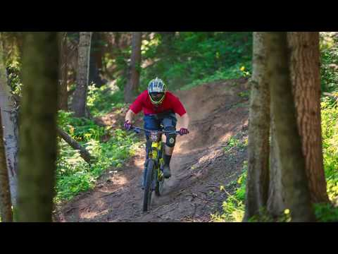 2017 SILVER MOUNTAIN BIKE PARK - North American Enduro Cup Day 2: Stage 5 FULL RUN!!!