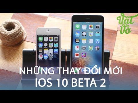 Vật Vờ  iOS 10 beta 2: những tính năng mới, cải thiện lỗi của beta 1