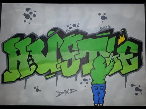 Wildstyle Graffiti Graffiti Letters Gangster Hustle Youtube