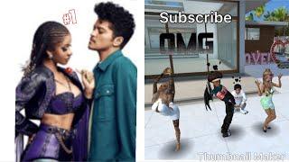 Cardi B & Bruno Mars - Please Me music video Avakin life