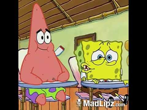 Spongebob dan Patrick suka banget sama ciu wkwk . Madlipz Indonesia