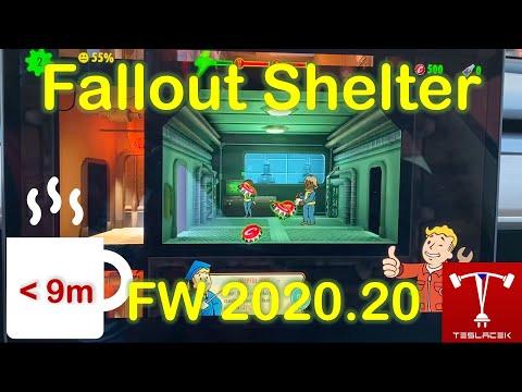 #195 Fallout Shelter Tesla OS FW 20.20.12 | Teslacek