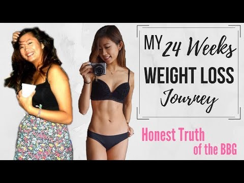 24 Weeks Weight Loss Journey (BBG) | Recover from Bulimia Eating Disorder | stayfitandtravel