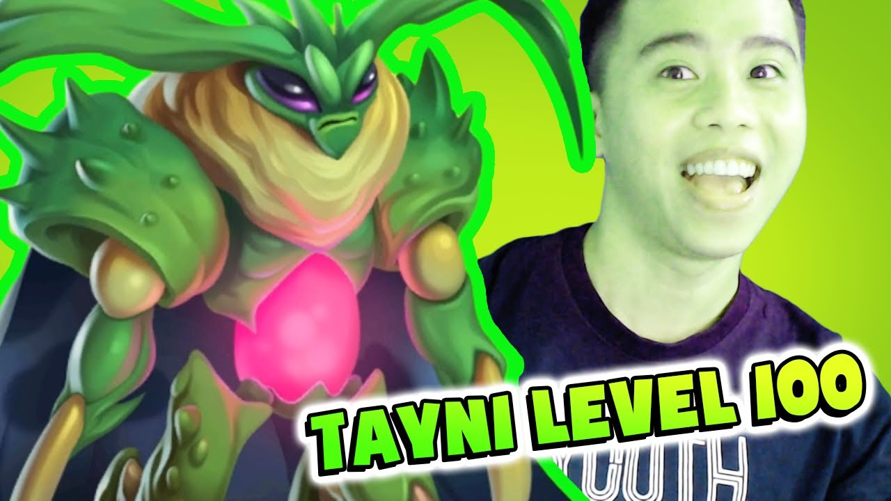 Tayni level 1 to 100 Review and Combat – Monster Legends