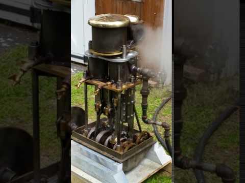 Running the Herreshoff Steam Engine