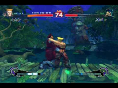 Super Street Fighter 4: Guile Rival Match (SSF4 Rival)