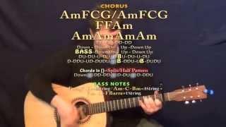 Failure (Breaking Benjamin) Guitar Lesson Chord Chart - Capo 1st Fret