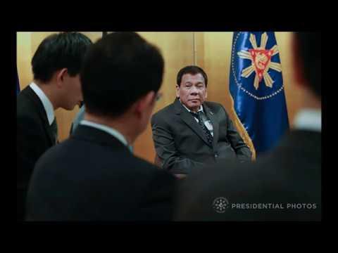 Duterte meets Japanese Emperor Akihito, Empress Michiko