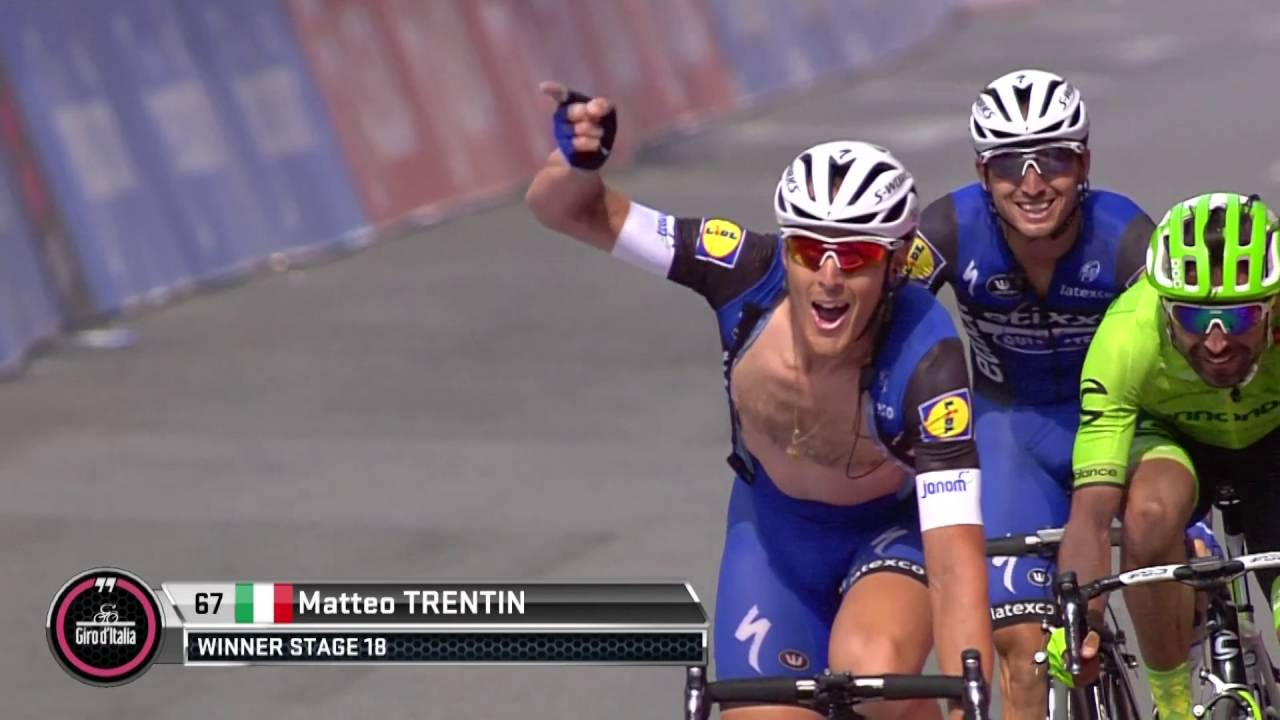 Giro d'Italia: Stage 18 - Highlights - YouTube