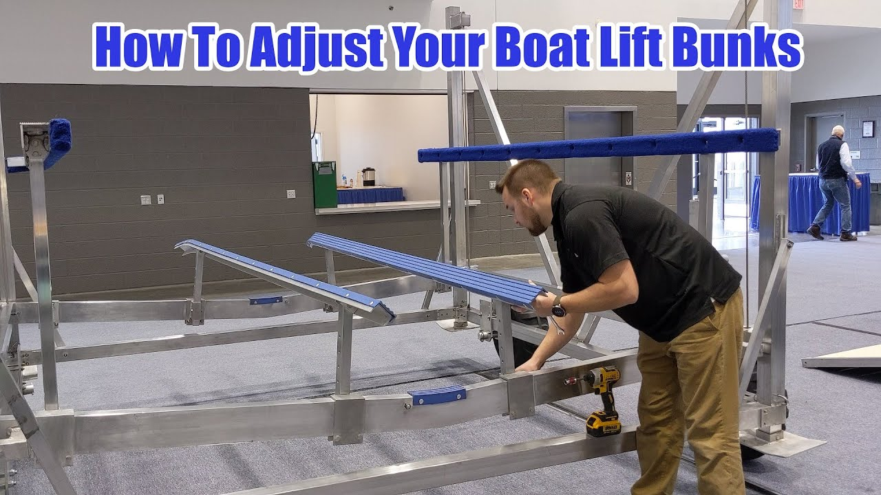How To Adjust Your Boat Lift Bunks