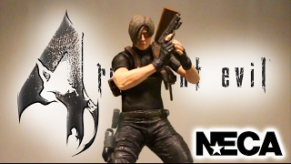 NECA - Leon S Kennedy (RE4) Classic Action Figure Review