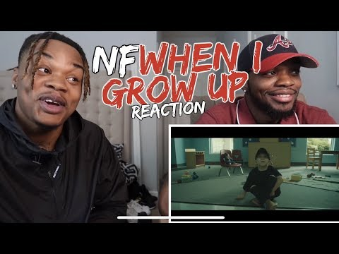 NF - When I Grow Up ( REACTION / DISSECTED)