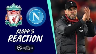 Klopp's reaction: Fabinho injury, Ancelotti and Salzburg approach | Liverpool vs Napoli