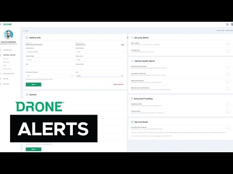 How to Set Up Security Alerts | DroneMobile Support