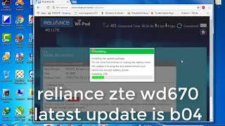 Download Unlocked Reliance Airtel Wipod 4g Lte Zte Wd 670