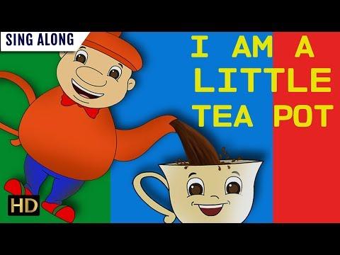I Am Little Teapot (HD) SING ALONG Nursery Rhyme For Children | Shemaroo Kids Junior