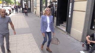 EXCLUSIVE : Brigitte Macron wants to dance  on techno music in Paris