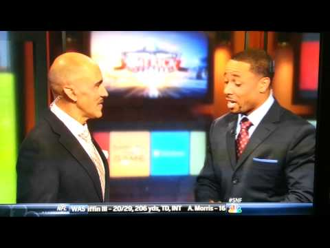 Tony Dungy and Rodney Harrison get into fight on live TV
