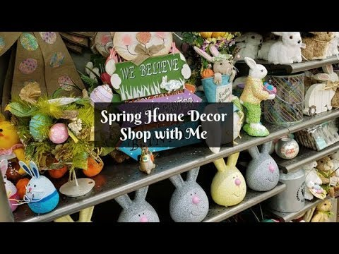 Spring Easter Decor Shop With Me Tablescape Christmas Tree