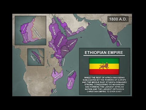 Map Art: [AH] Ethiopian Colonial Empire ( 1800 A.D. )