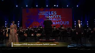 Dominique Côté et Suzanne Taffot - Duo Papageno Papagena - Die Zauberflöte - Mozart