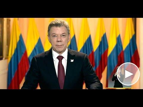 Alocución del señor Presidente de la República Juan Manuel Santos 3 de mayo de 2017