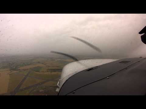 From Hawarden / Chester Airport : EGNR : to Nottingham City Aiport : EGBN : in a Cessna T206H