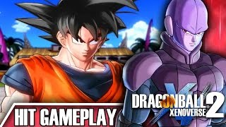 The power of time skip!!! | dragon ball xenoverse 2 hit gameplay