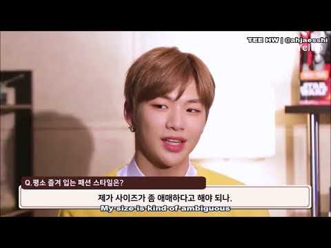 [ENG] Wanna One Kang Daniel - Ivy Club Interview