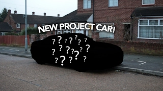 THE NEW PROJECT CAR!!