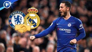 Le Real Madrid et Chelsea tout proches d'un accord pour Eden Hazard | Revue de presse