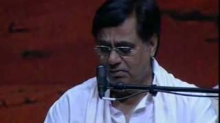 Tum ko dekha to yeh khayal aaya Live HQ Javed Akhtar Jagjit Singh post HiteshGhazal
