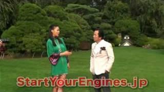 清水和夫が美女と対談。相手はなんとミスユニバース日本代表の美馬寛子...