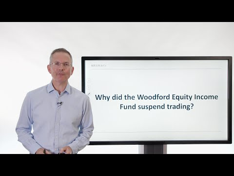 Killik Explains: Why did the Woodford Equity Income Fund suspend trading?